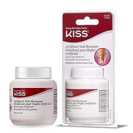 Kiss Artificial Nail Remover (2 unidades, 1 pieza)