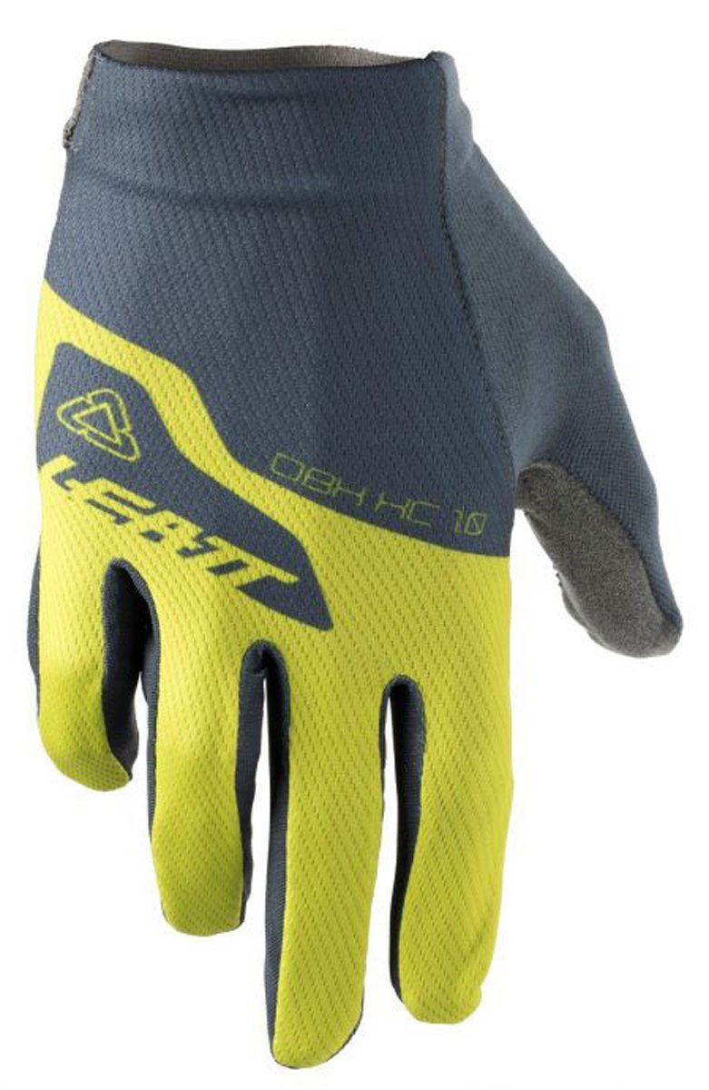 Leatt DBX 1.0 XC Adult Bike Sports BMX Gloves - Lime / Large
