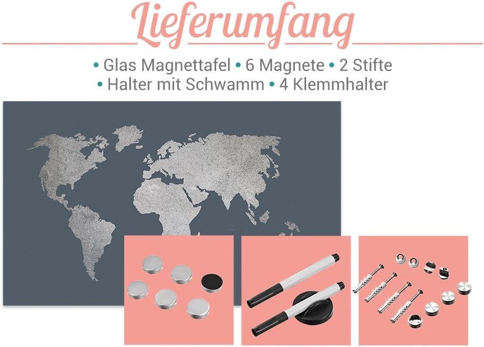 Magnetpins! Größen Tafel Memoboard Design Motiv Magnet Pinnwand versch Wand