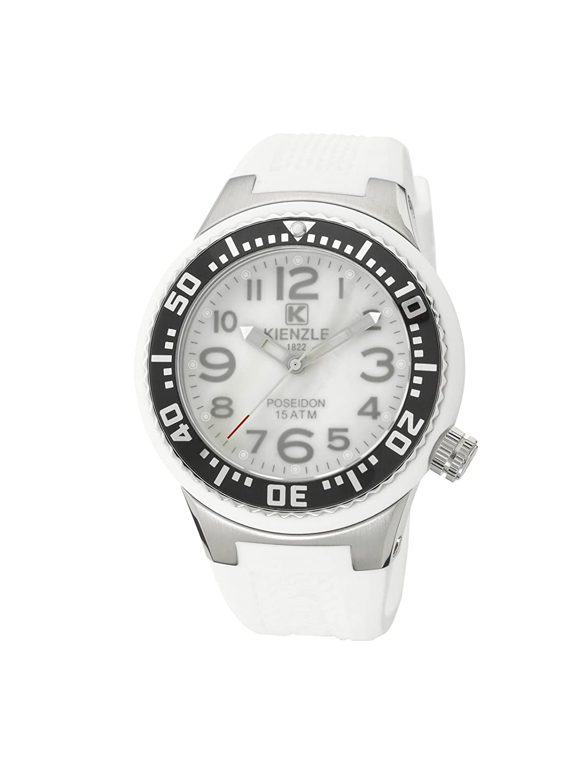 Kienzle Unisex-Armbanduhr POSEIDON S Analog Silikon K2053154323-00279