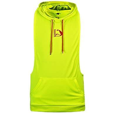 HASIDING Camiseta con Capucha Sin Mangas Sudaderas Fitness Tank Top Verde Claro XL: Amazon.es: Ropa y accesorios