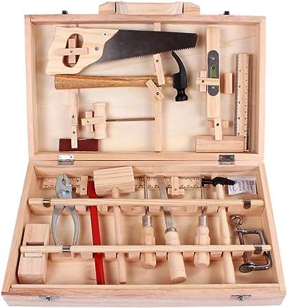 LOL lo Caja de reparación de Juguetes, construcción Multifuncional, Kit de Herramientas de Madera para niños, Juego de Herramientas de Juguete: Amazon.es: Hogar