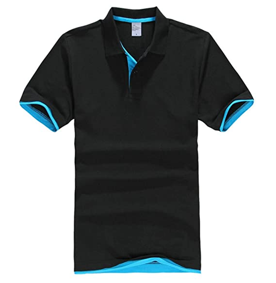 b3d98b7be4 Aancy Mens Polo Shirts Men Desiger Polos Men Cotton Short Sleeve ...