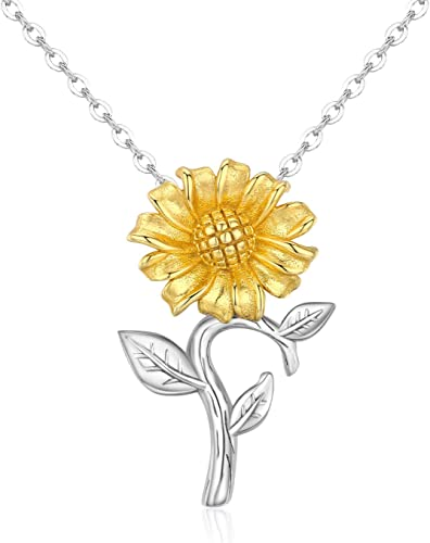 Charms Necklace Handmade Jewelry Girls Sterling Silver and Gold-Filled Charm Necklace Birthday Gift for Girlfriends and Flower Girls