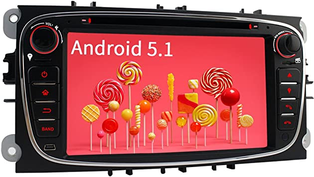 Iauch Android 5.1.1 7 pulgadas reproductor de DVD estéreo de coche ...