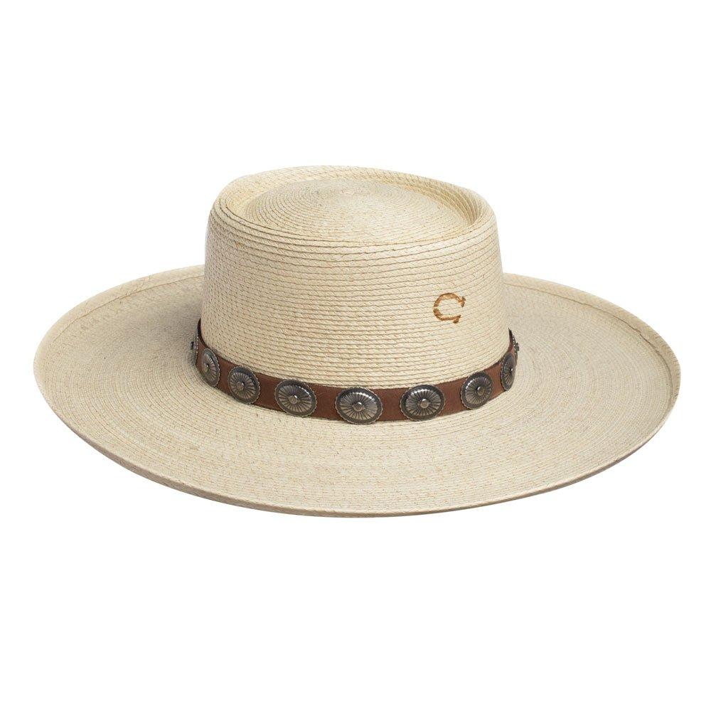 Charlie 1 Horse High Desert Palm Leaf Hat by Charlie 1 Horse