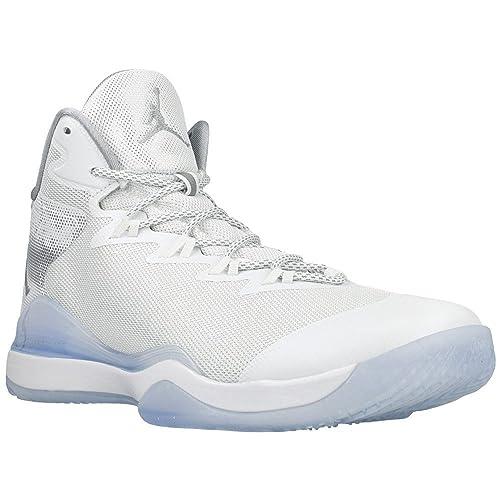 5407bb1d2b8f98 Nike - Jordan Superfly 3 Pearl - Color  Light blue-White - Size  11.5US   Amazon.ca  Shoes   Handbags