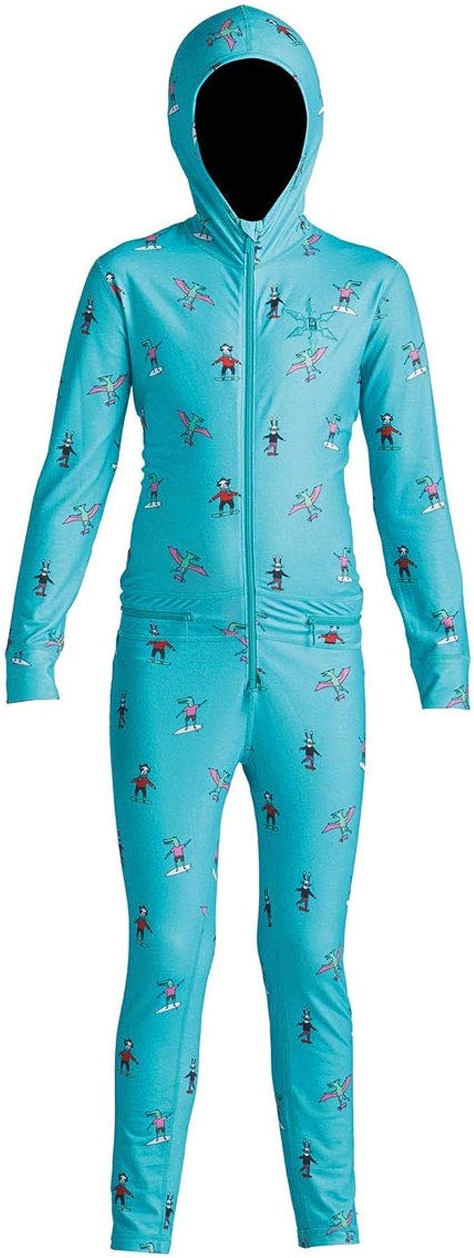 Amazon.com: AIRBLASTER Youth Ninja Suit Hooded Outdoor One ...