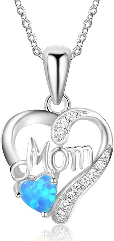 DiamondJewelryNY Sterling Silver Rhodium-Plated White Created Opal Bar Pendant