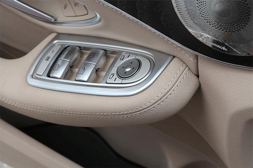 4Pcs Door Alzacristallo Button Cover Trim, Accessori Auto Styling Lhd METYOUCAR