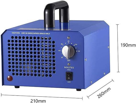 MZBZYU Generador de Ozono Comercial,Purificador de Aire ...