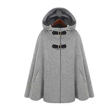 Mode Capuche Poncho Châle La Femme Avec Manteau À Fanessy Cape wxBI0R