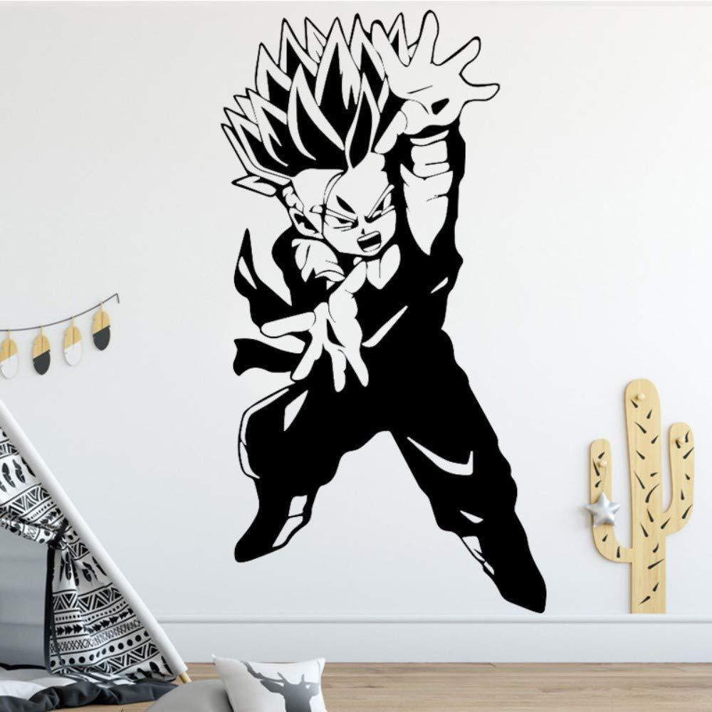 Extraíble Goku Super Saiyan Dragon Ball Etiqueta De La Pared ...