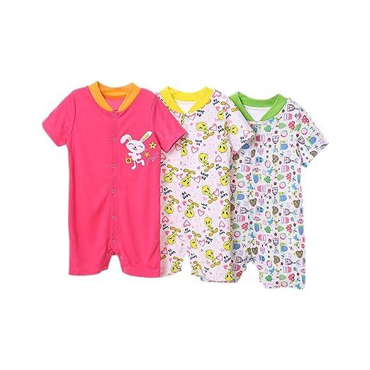 13b171eb1 ZEVONDA Ropa de Bebé - Venta Caliente 3X Infantil Bebé Escalada Ropa  Mameluco: Amazon.es: Ropa y accesorios
