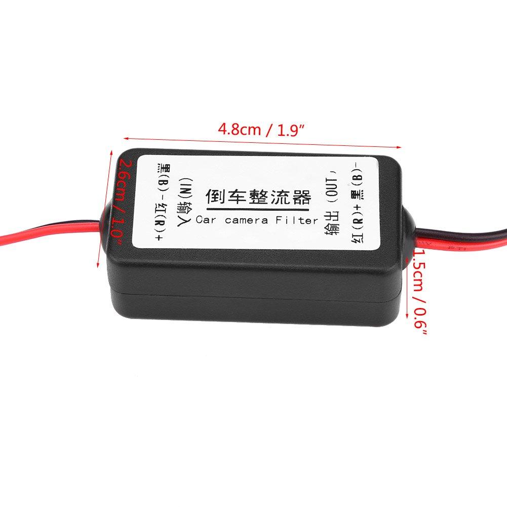 Cuque 12V DC Raddrizzatore del Filtro del Condensatore del Rel/è di Potere per Auto