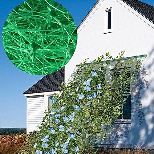 - HUNIKC 5.5Ft x 19Ft Trellis Netting Plant Support for Climbing Plants, Vine and Veggie Trellis Net Climbing Frame Garden Fence Net for Flower Plant Fruit
