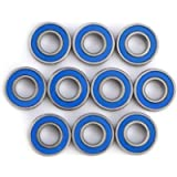 MR115-2RS Miniature Ball Bearings, 5x11x4mm Steel Bearings, Used for 3D Printers, Quadcopters or Models (10pcs)