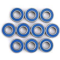 10 Unids MR115-2RSMini Rodamientos de Bolas Teniendo Acero