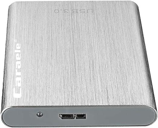 Homyl 外付ハードディスクドライブ 2.5インチ USB3.0 SATA 外付けストレージ - 500GB