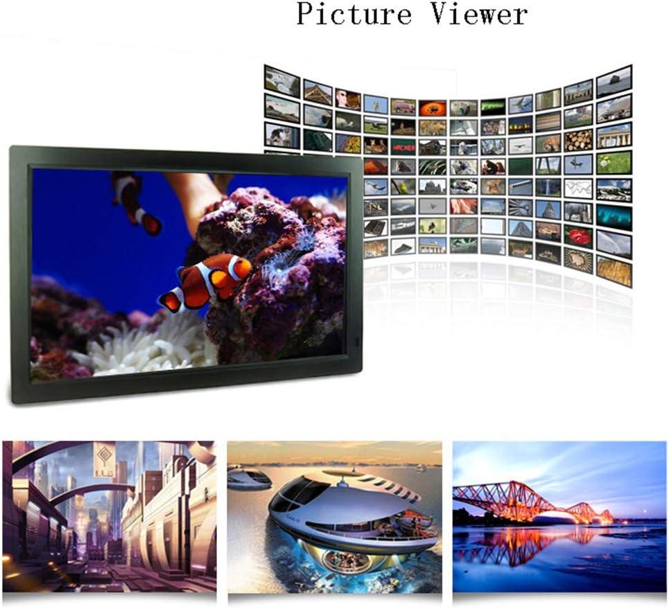 Digital Photo Frame 22 Inch Widescreen Ultra-Thin Ultra-Clear Advertising Machine HD 1920X1080HDMI