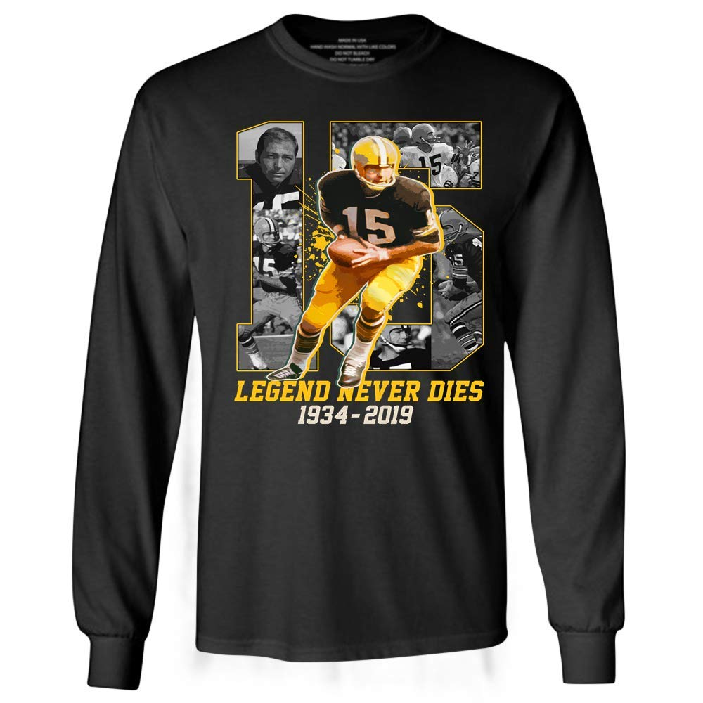 Bart15 Legend Never Dies Thank You Starr Football Green Bay Tshirt
