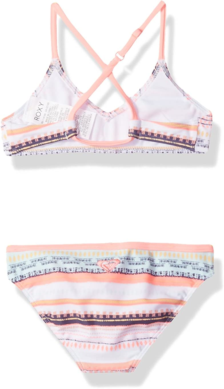 Roxy Girls Little Indi Two Piece Bikini Swimsuit Set
