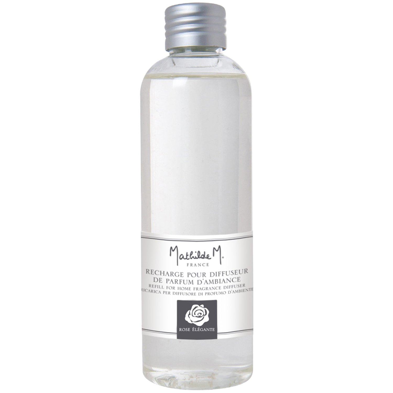Recharge pour Diffuseur de Parfum D'Ambiance 180ml Parfum D'intérieur - Mathilde M (Rose Élégante)