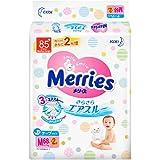 Merries 花王 三倍透气纸尿裤M 68片+2片