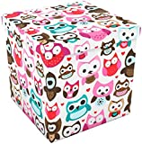 Cheap DAR Storage Ottoman 15 x 15, Owl