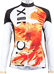 LAOYOU Phoenix Womens Long Sleeve Cycling Jersey Bike Clothes Bike Jersey  Bike Apparel Bicycle Clothing Cycling ca0c0df54