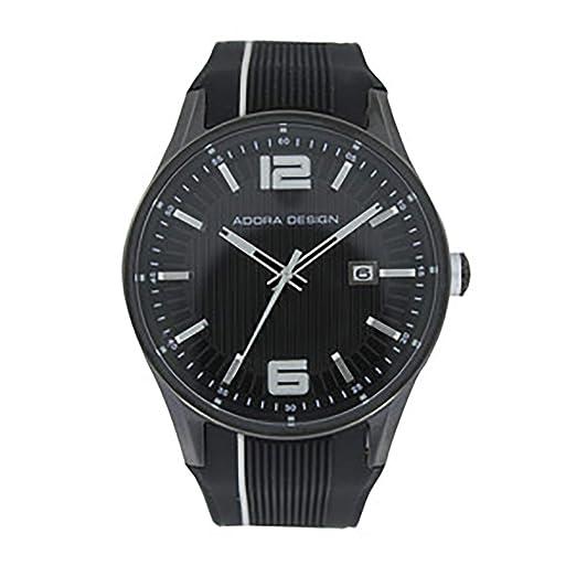 Relojes Adora Hombre Mujer Reloj De Pulsera Negro con fecha Limited Edition Reloj de pulsera reloj