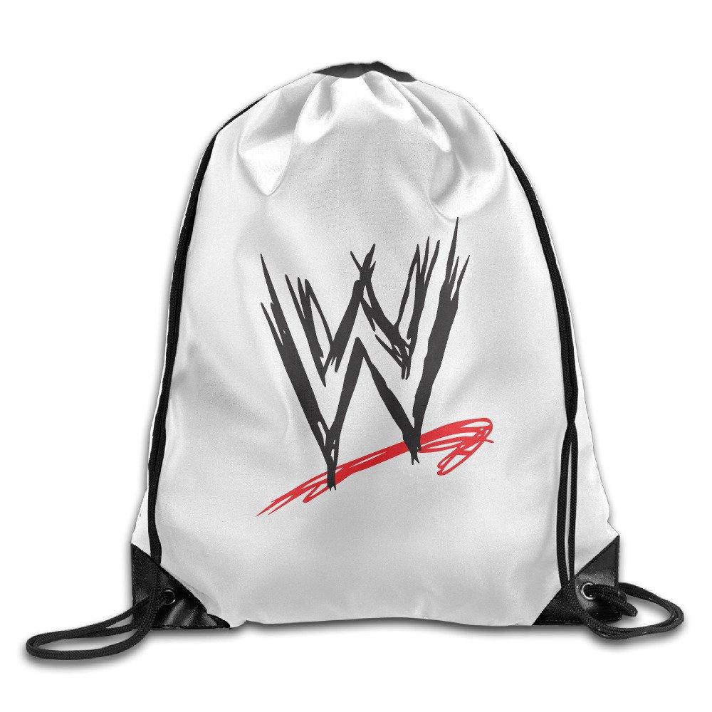 WWE Drawstring Backpack Bag Shoulder Bag