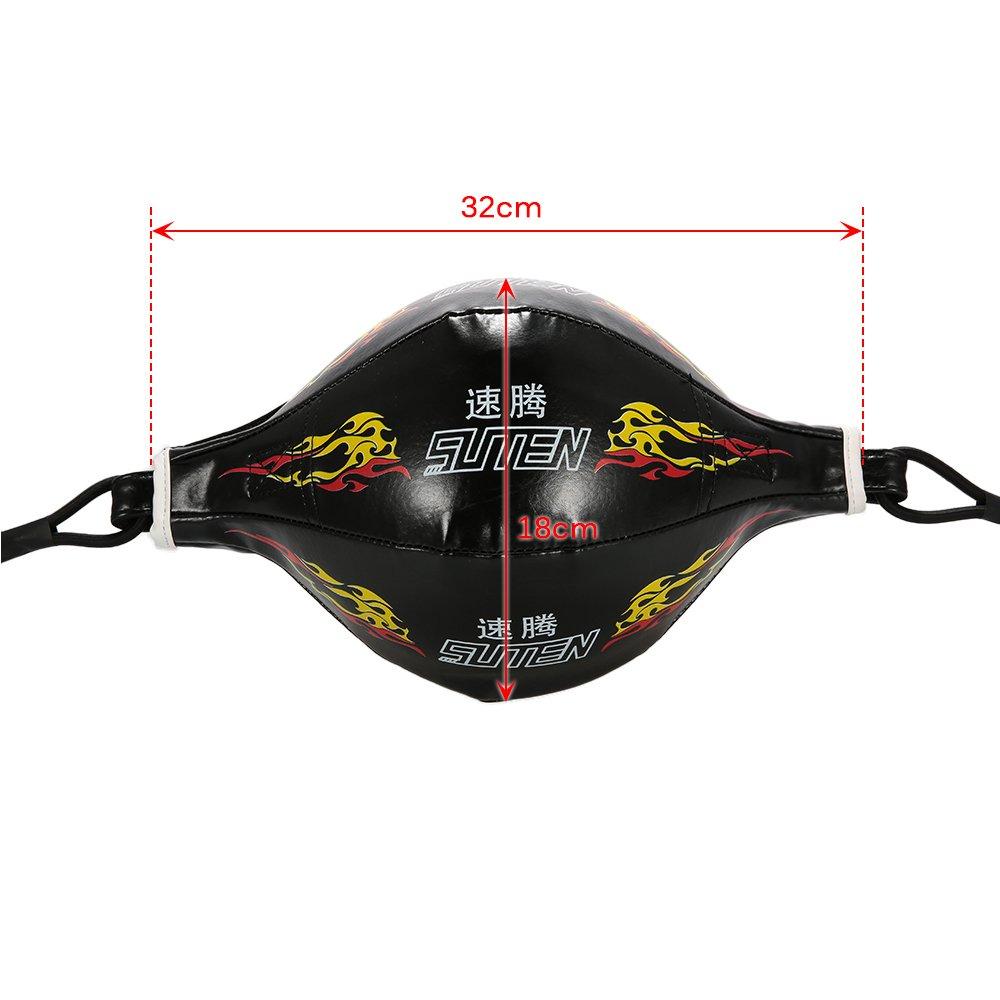 Material Lixada Doppel End Boxing Speedball//Aufblasbarer SpeedBall PU Leder