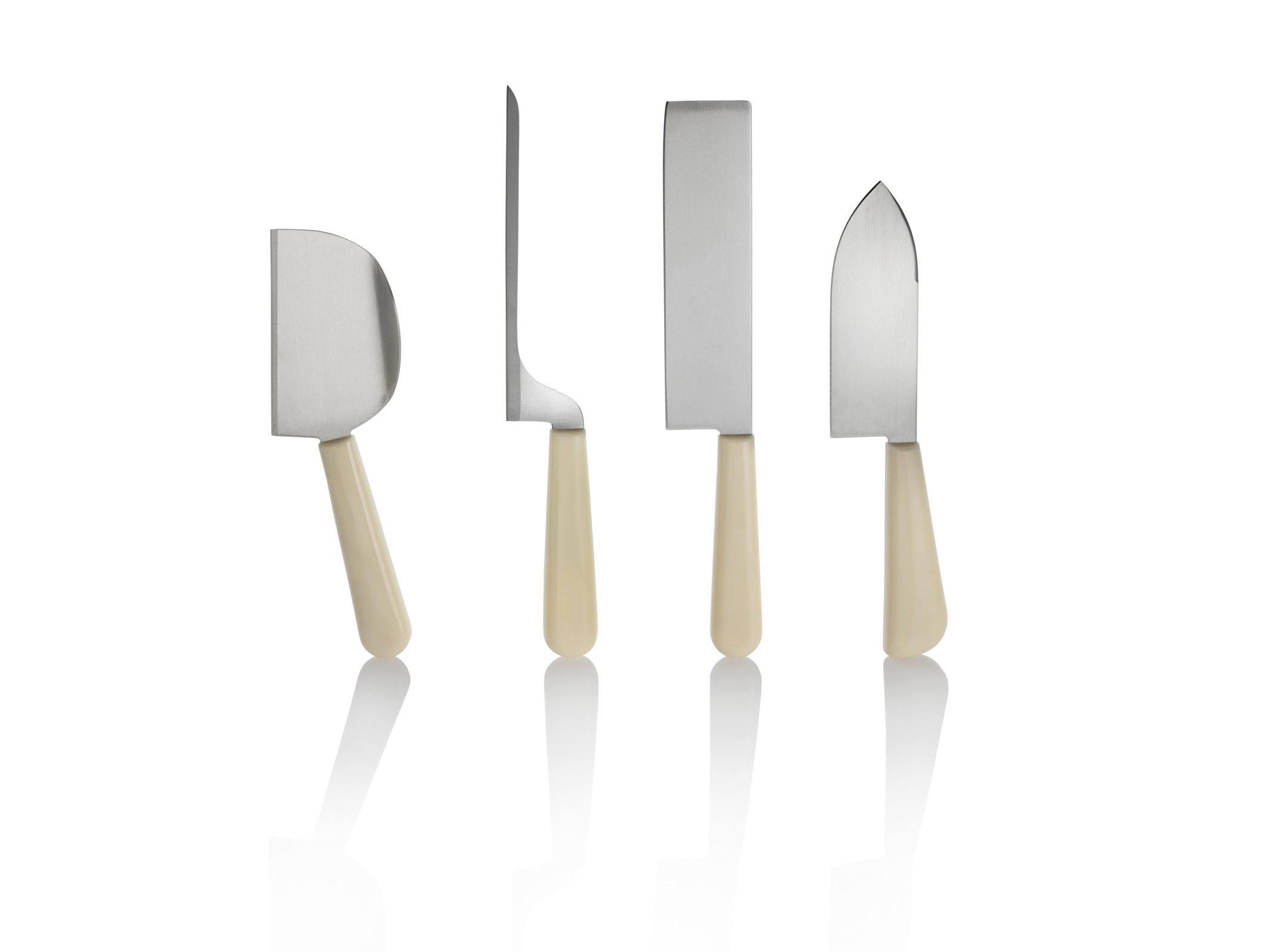 Alessi GAG500S3'' K''''Milky Way Minor'' Set Cheese Knives Multicolor by Alessi (Image #1)