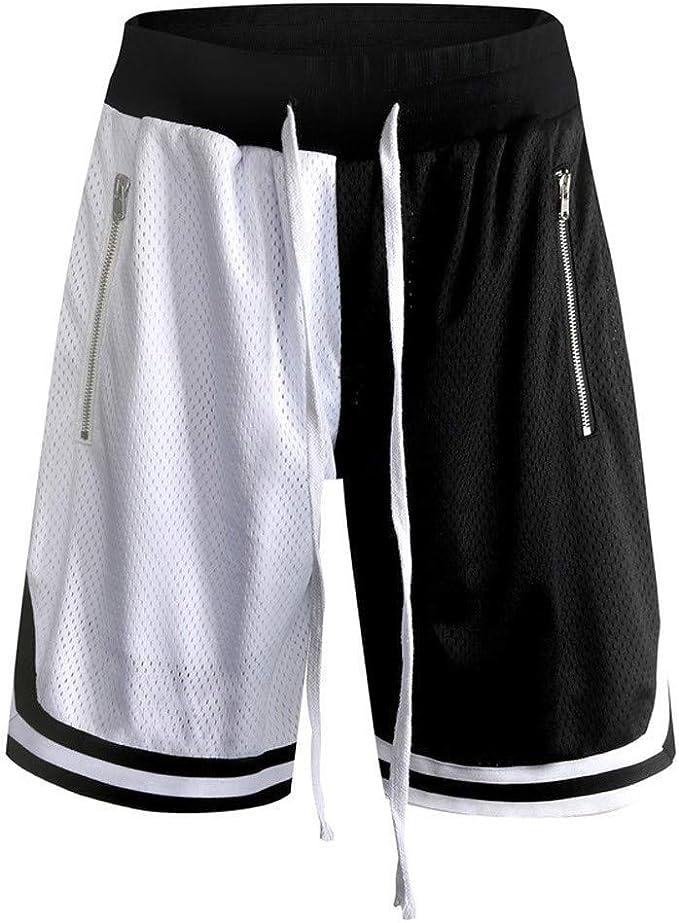 MXJEEIO💖Casual Moda Fitness Deportes Hombre Pantalón Corto ...