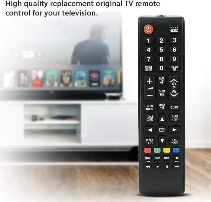 Zerone Mando a Distancia para televisor Samsung BN59-01199G, Repuesto Original de Mando a Distancia para televisor Samsung Smart TV: Amazon.es: Electrónica