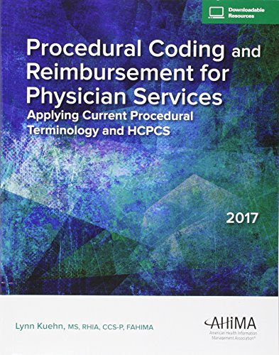 Procedural Coding and Reimbursement for Physician Services, 2017