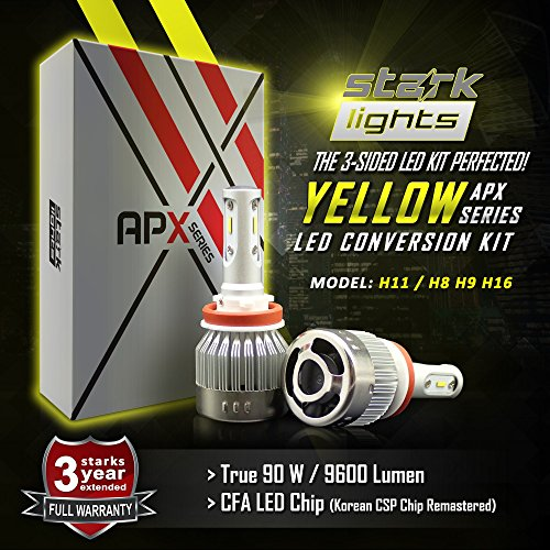 H11 Led Fog Lights Yellow in US - 7
