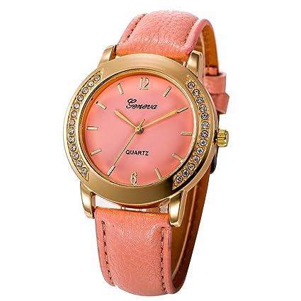 Amlaiworld Reloje Hombres Mujer relojes deportivos baratos Reloj de pulsera análogo de cuarzo de
