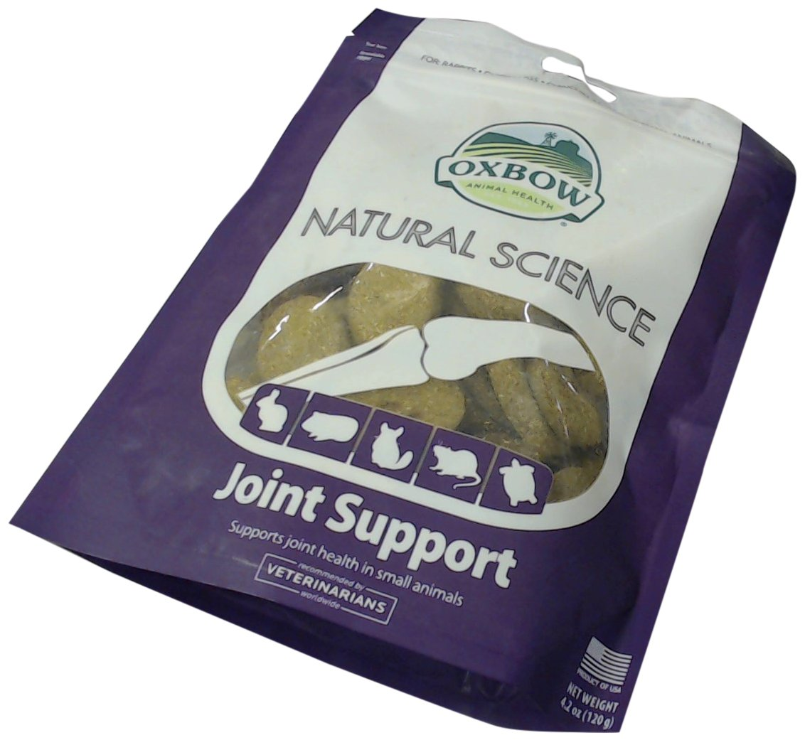 OXBOW Animal Health Natural Science Joint Support Supplements Hay Based Tab 60ct 448200