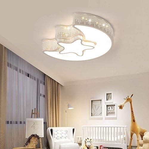 FangYanMei LED Ceiling lamp Modern Bedroom Ceiling lamp White Metal Lighting