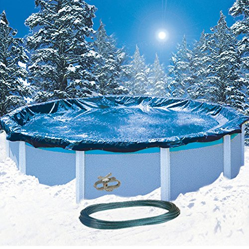 15' Round Economy Above Ground Swimming Pool Winter Cover 8 YR (Ground Economy Winter Covers)