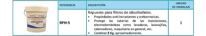 Amazon.com: RC rph-5 Replacement silicofosfatos Filters, 5 kg: Home Improvement