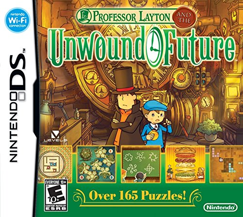 Professor Layton and the Unwound Future - Nintendo DS by Nintendo