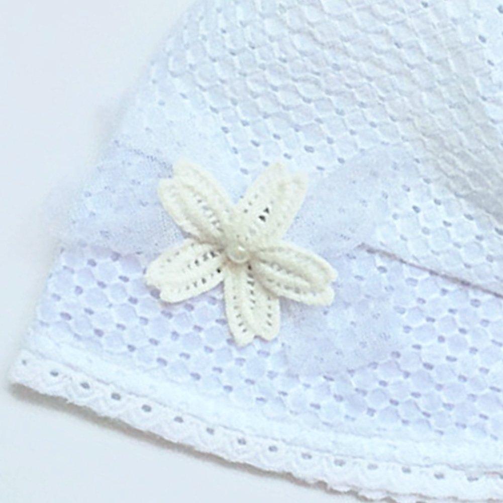 La Cabina B/éb/é Fille Princesse Chapeau de Paille Respirant Impression Fleur Sun Hat Contre Soleil /Étanche Casquette Princesse Chapeau de P/êcheur pour B/éb/é