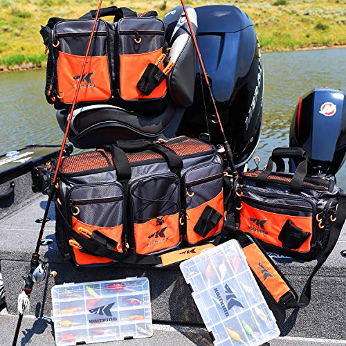 KastKing Fishing Tackle Bags,Medium-Hoss(Without Trays, 15x11x10.25 Inches)