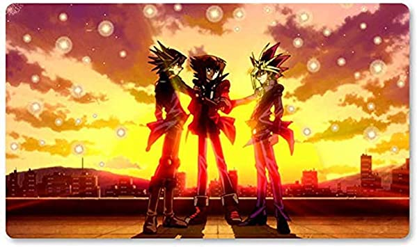 All For One, One For All - Juego de Mesa Yugioh Playmat Juegos Tapete de Mesa Mousepad MTG Play Mat ¡para Yu-Gi-Oh! Mon Magic The Gathering 30X80CM: Amazon.es: Electrónica