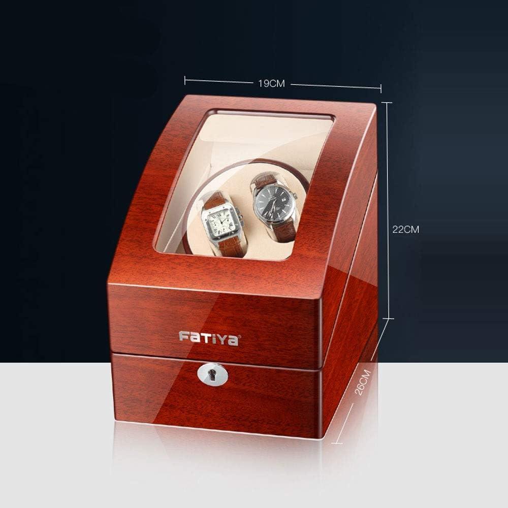 SuRose Automatik Uhrenbeweger Box Automatik Uhrenbeweger Box Holz H