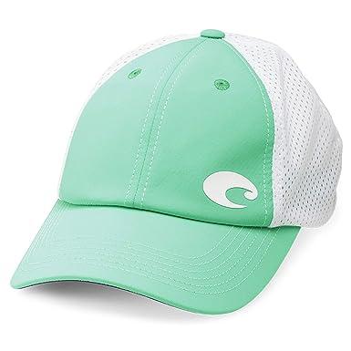 e05e7cd2c1c2b ... germany costa del mar offset logo performance hat mint green eeba5 35c63