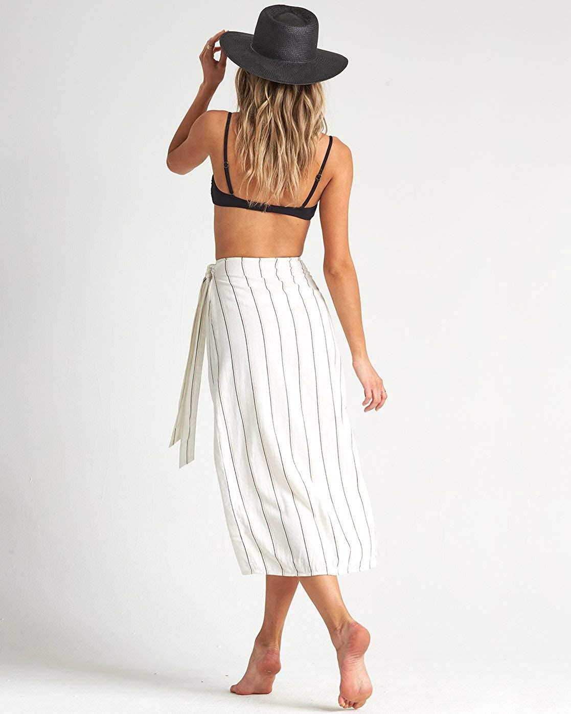 BILLABONG Damen by The Water Skirt Strickrock Salzkristall
